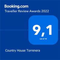 Booking Awards 2020 - Country House Torrenera